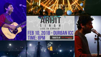 Win 2 Tickets – Arijit Singh Live in Concert – South Africa