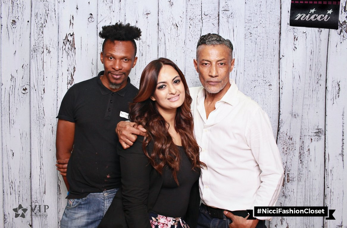 Jawed, Ria Algoo & Saadique at the Nicci AW18 Launch